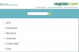 BCCI official website goes up for sale because of a shocking reason