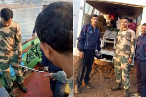 BSF ferries critical mother, newly-born child to hospital in Odisha