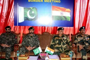 BSF, Pakistan Rangers hold meeting at Suchetgarh