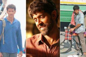Leaked pics: Hrithik Roshan selling 'papad' in Jaipur for 'Super 30'