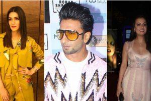 B-Town celebs Ranveer Singh, Kriti Sanon, Dia Mirza attend MUD Studio launch