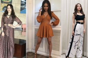 Nushrat Bharucha pumping up fashion goals during 'Sonu Ke Titu Ki Sweety' promotions