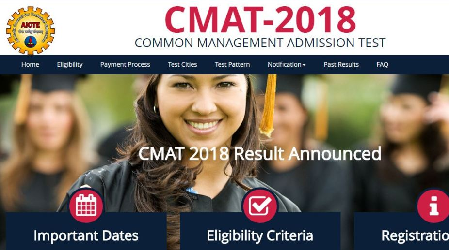 CMAT 2018 Result out