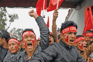 Feudal touch to Nepal's communism