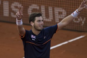 Britain draw level with Spain in Davis Cup tie