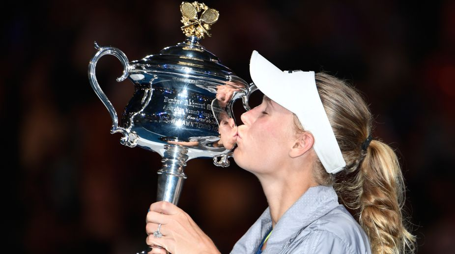 Caroline Wozniacki (Photo Credit-AFP)