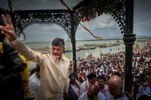 Naidu takes out cycle rally demanding special status for Andhra