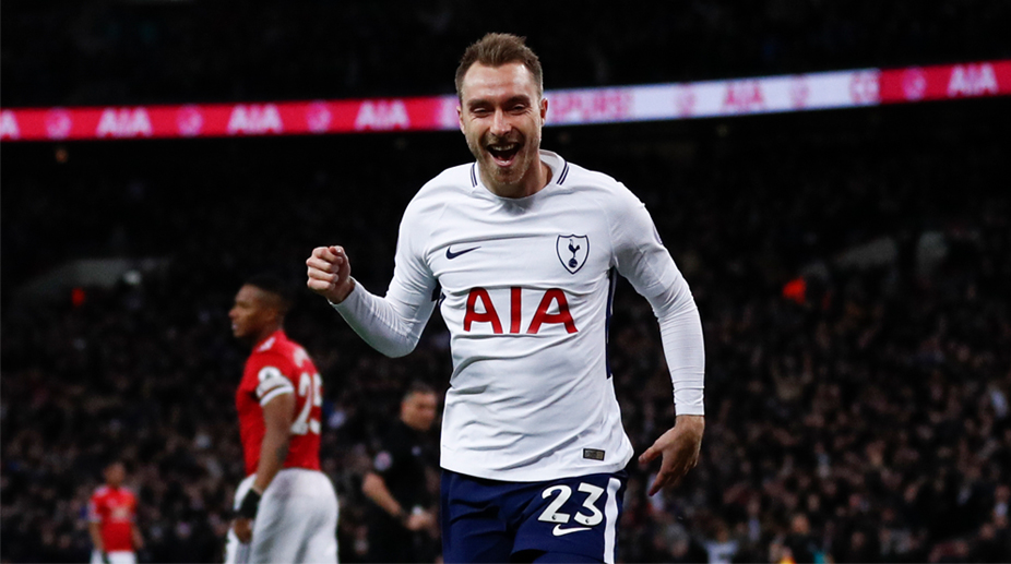 Christian Eriksen, Tottenham Hotspur F.C., Premier League, Tottenham Hotspur vs Manchester United