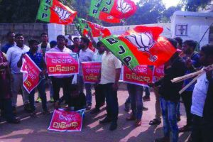 BJP activists vandalise Odisha bureaucrat's house, hurling abuse
