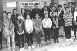 Sikkim students leave for Assam training
