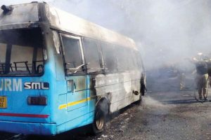 20 Myanmar migrant workers killed in Thailand bus fire