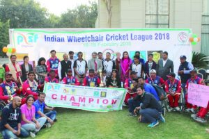 UP Strikers clinch Wheelchair Cricket League
