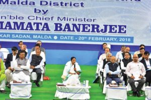 Centre 'bulldozing' country's federal structure: Mamata