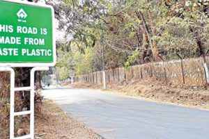 RSP uses waste plastic to construct 1 km road stretch fron Rourkela club to Shaktinagar