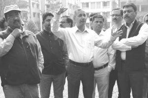 Bagha Jatin Park 'damage' sparks controversy, again