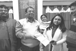 Alipurduar girl receives 'Najrul Giti' award
