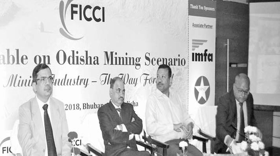 FICCI round table discussion on Odisha Mining Scenario in Bhubaneswar on Friday.
