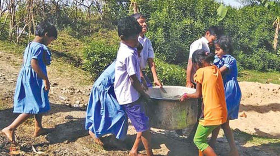 Kendrapara Govt school students