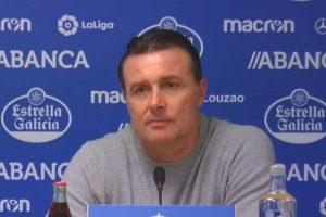Deportivo fire head coach Cristobal Parralo