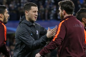 UCL: Eden Hazard reacts to Chelsea's draw with Barcelona