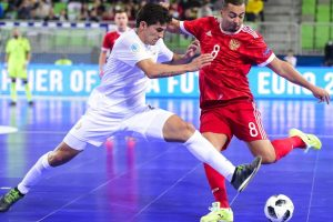 Russia downs Kazakhstan in Futsal Euro third-place match