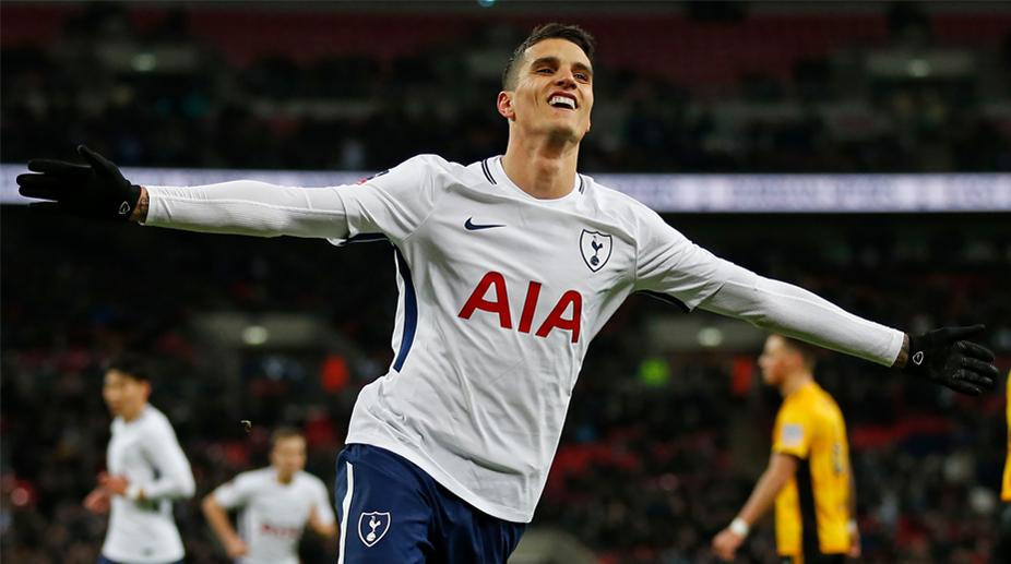 Erik Lamela, Tottenham Hotspur F.C., FA Cup, Tottenham Hotspur vs Newport County