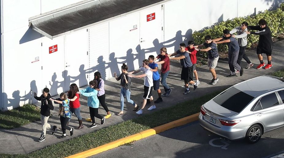 Florida school, survivors, Florida school shooting, Washington