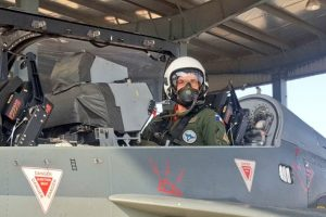 After US Air Force chief, French Air Force chief flies Tejas
