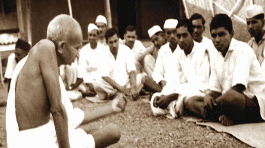 Gandhi and trusteeship