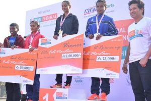 Gopi T and Monika Athare retain titles but fail to qualify for CWG