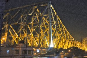 Howrah bridge is 75