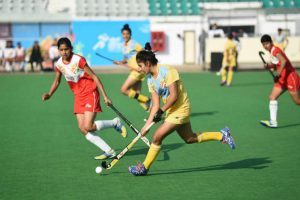 KISG: Jharkhand set up title clash with Haryana in girls' hockey