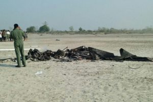 IAF chopper crashes in Assam, 2 dead