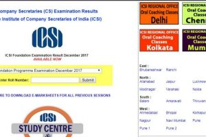 ICSI CS Foundation Result 2017: 5 girls, 1 boy in top three | Check results