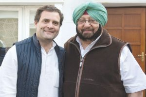 Rahul Gandhi wishes 'good health, happiness' to Capt Amarinder on his birthday