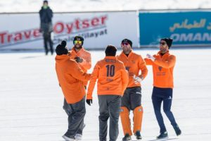 In Pictures: Ice Cricket Tournament 2018