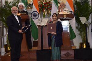 India, Iran sign 9 key agreements to bolster trade