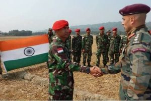 India, Indonesia joint military drill begins in Bandung