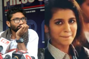 Jignesh Mevani takes a smart dig at RSS using Priya Varrier's viral video