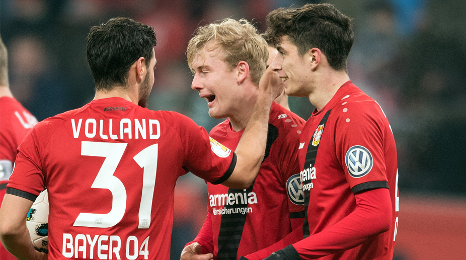 Julian Brandt, Bayer Leverkusen, Bundesliga, German Cup