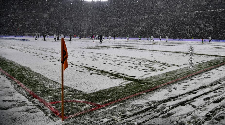Juventus vs Atlanta, Juventus, Turin, Snow, Serie A