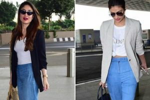 Look how Athiya Shetty inspired Kareena Kapoor to deck up for airport look