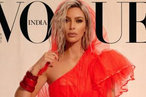 Kim Kardashian's shoot for Vogue India sparks controversy