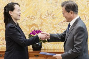 IOC hails two Koreas' handshakes at opening ceremony as 'historic moment'