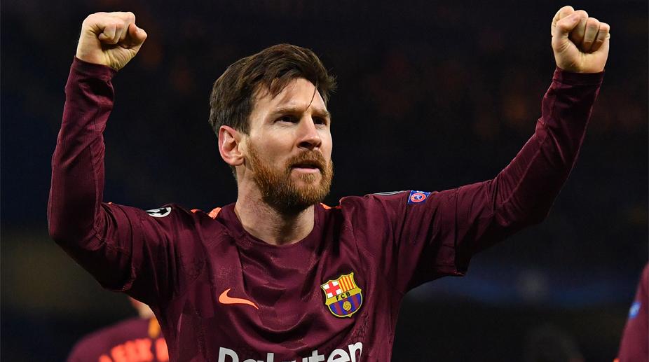Lionel Messi, F.C. Barcelona, Chelsea vs Barcelona, UEFA Champions League