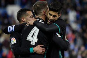 La Liga: Real Madrid beat Leganes to move into 3rd