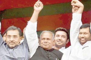 Double trouble brewing in NDA's Bihar cauldron