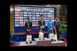 Manav Thakkar ends up with silver at ITTF World Junior Circuit Finals