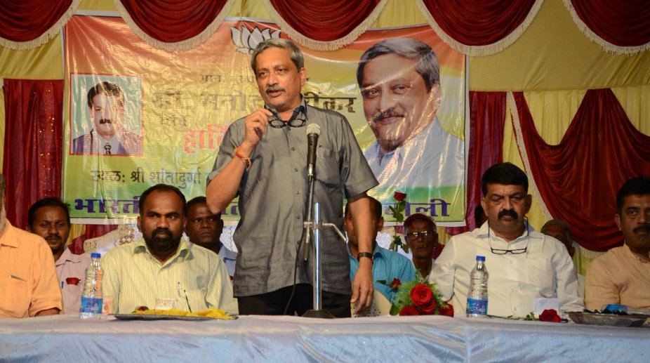 Manohar Parrikar Goa CM