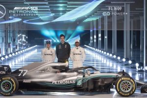 F1 World Champions Mercedes unveil 2018 season car